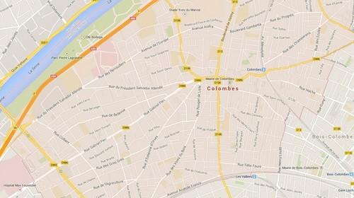 Colombes prise d 39 otages en cours dans un bureau de poste - Bureau de poste colombes ...